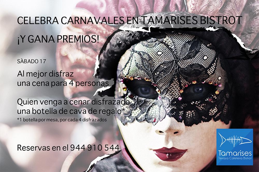Carnavales en Tamarises Bistrot tiene premio